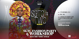 SGTC FASHION PARTY AND WORKSHOP SIDEWALK RESTAURANT & BAR. VICTORIA ISLAND