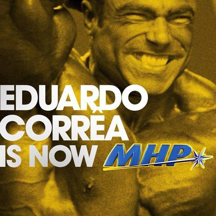 >Eduardo Corrêa agora faz parte do time de atletas da MHP. Foto: Divulgação