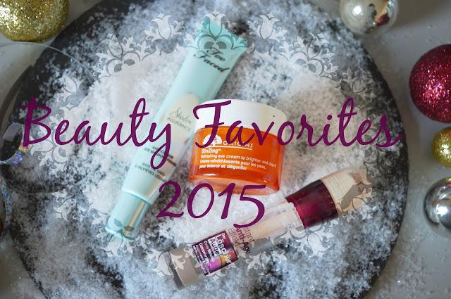 Beauty Favorites 2015