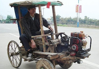 funny pictures of Chinese tractor