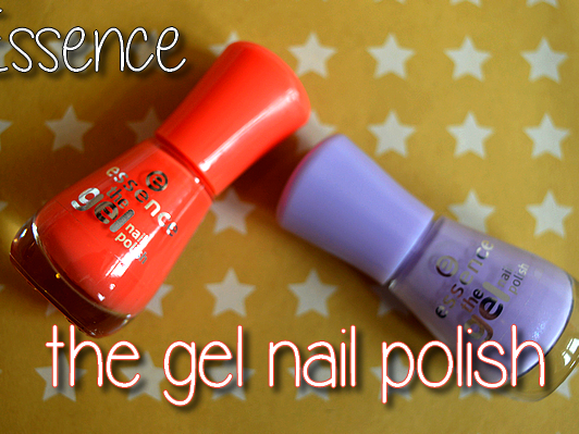 ESSENCE THE GEL NAIL POLISH ♥ REVIEW ♥