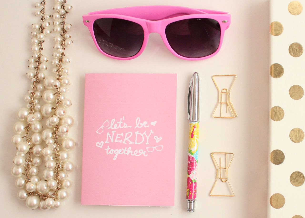 """Let's be nerdy together"" Printable Valentine's Day Cards by Jessica Marie Design"