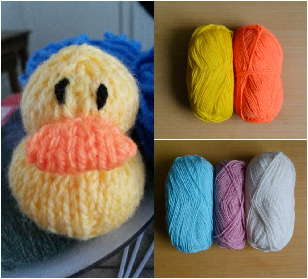 knitted duck yarn wool