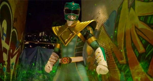 Ryu vs Power Ranger Verde