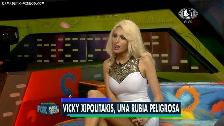 Argentina slut Victoria Xipolitakis see trough dress HD video