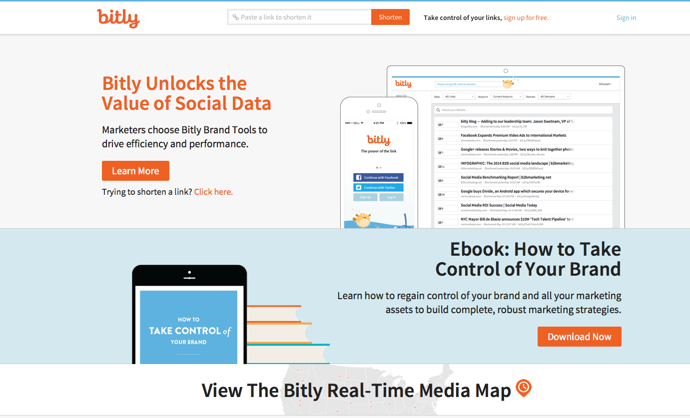 how to use bitly