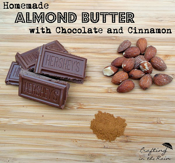 Almond Butter with Chocolate and Cinnamon by Crafting in the Rain