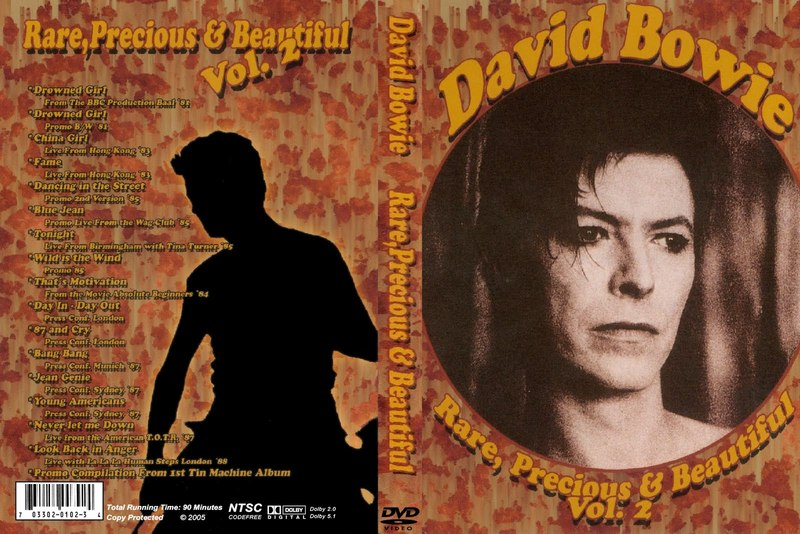 T u b e david bowie r i p rare precious and for 1980 floor show dvd