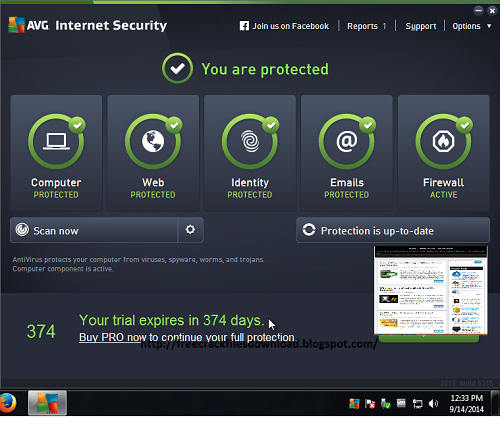 AVG AntiVirus 2015 With Licence keys