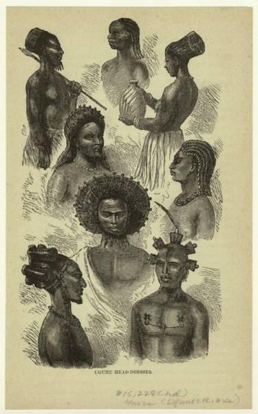 Natives of Ugogo, east central Africa