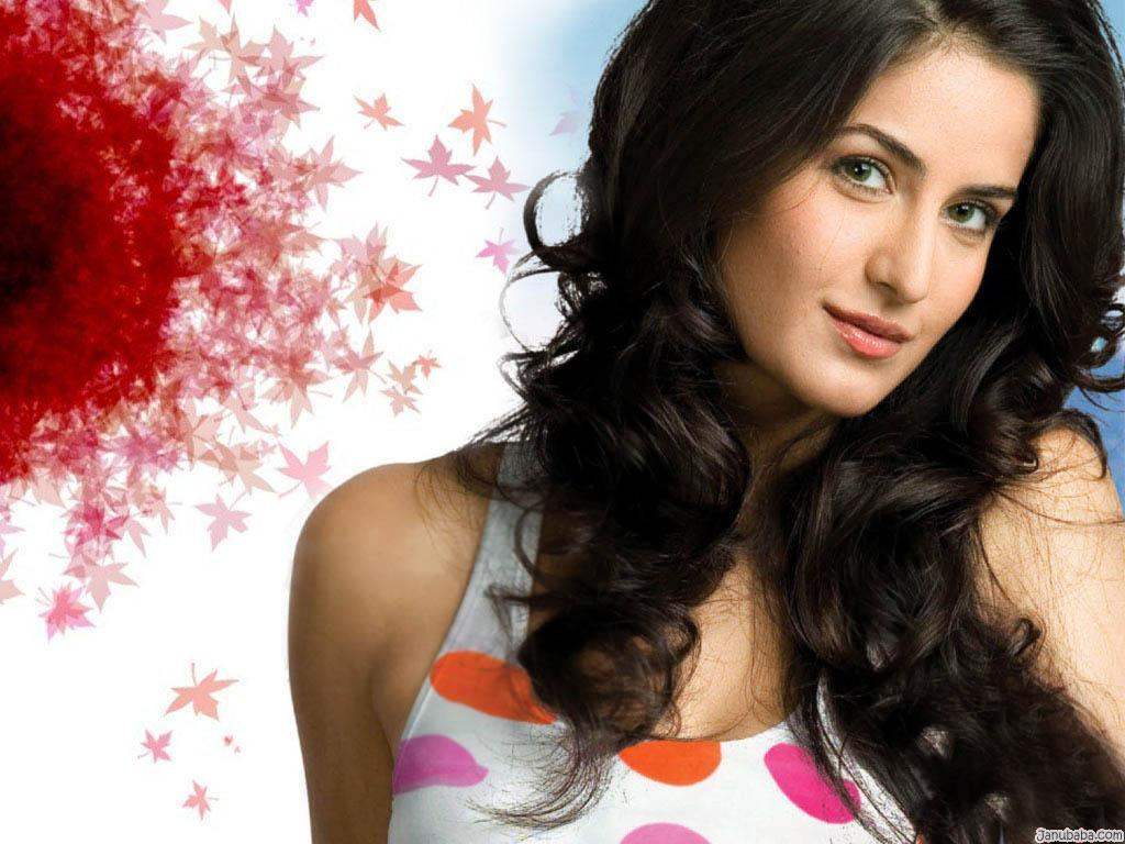 Katrina sexy flowy hair - Katrina kaif hd pics 2012