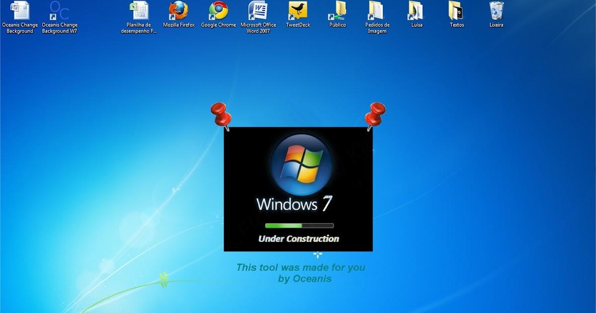 descargar oceanis change background 1 0 temas windows 7