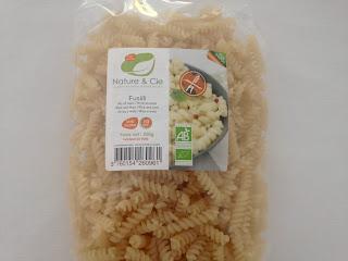 Fusilli riz maïs sans gluten - Nature & Cie