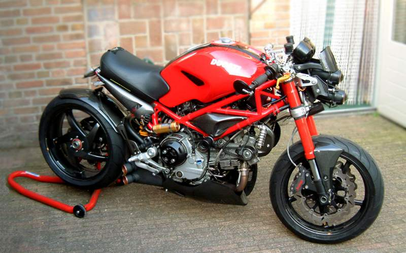 "Celli's 2006 Ducati Monster S2R-1000/ ""Ducreation""   The Perfectly normal 2006 Ducati Monster S2R-1000, until Celli got his hands on it. What he always wanted is something different and special – a ""Nuda"" ("