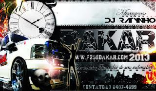 CD F250 Dakar Palmas-To 2013 ( ÐJ RATYNHØ)