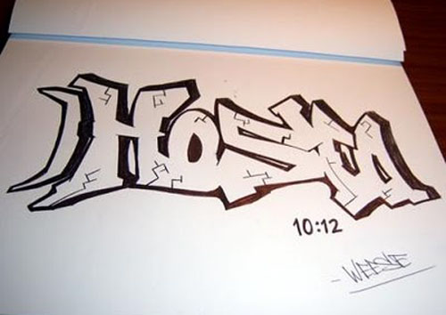 how to do graffiti letters with spray paint ehow apps directories. Black Bedroom Furniture Sets. Home Design Ideas