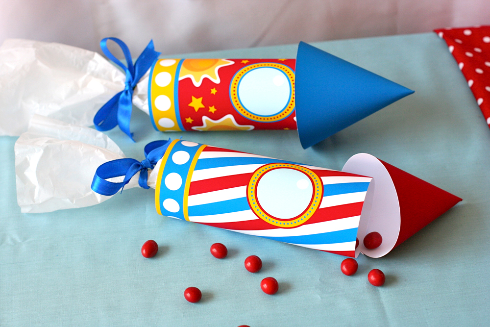 Vens Paperie Rocket Space Birthday Party