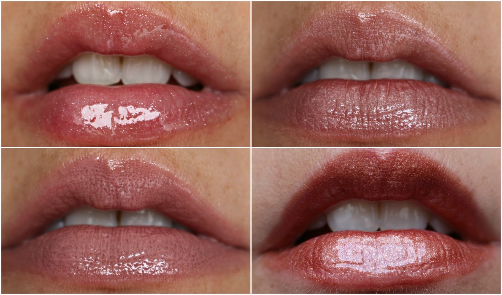 Cien lipgloss herfst collectie swatches