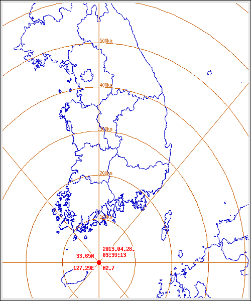 South_Korea_earthquake_epicenter_map