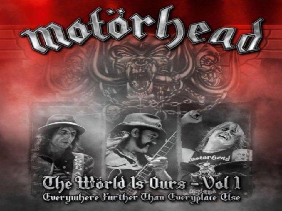 The Wörld Is Ours - Vol. 1 Álbum de Motörhead
