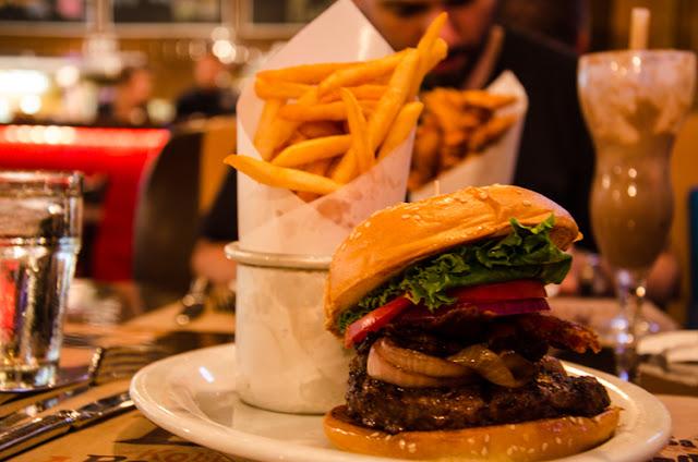 Lanchonete BLT Burger em Las Vegas