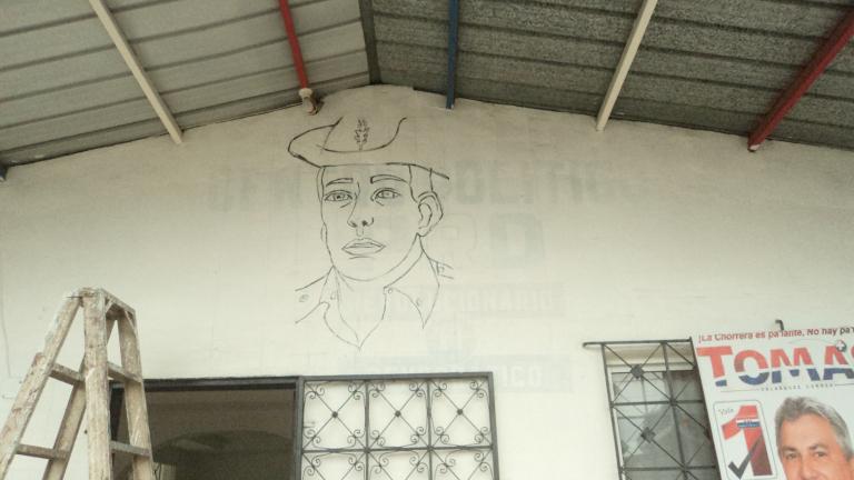 Mural de Omar Torrijos en La Chorrera