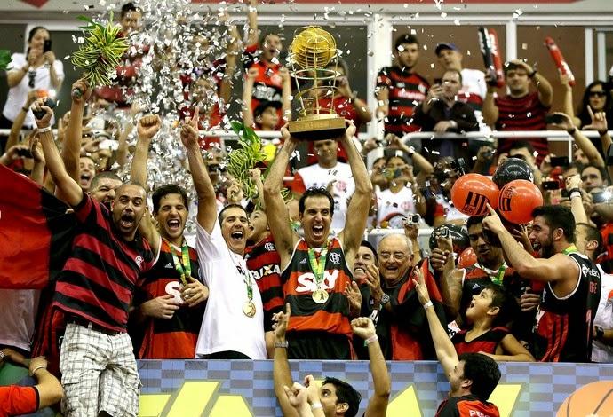 Flamengo tricampeão do NBB  2013/14