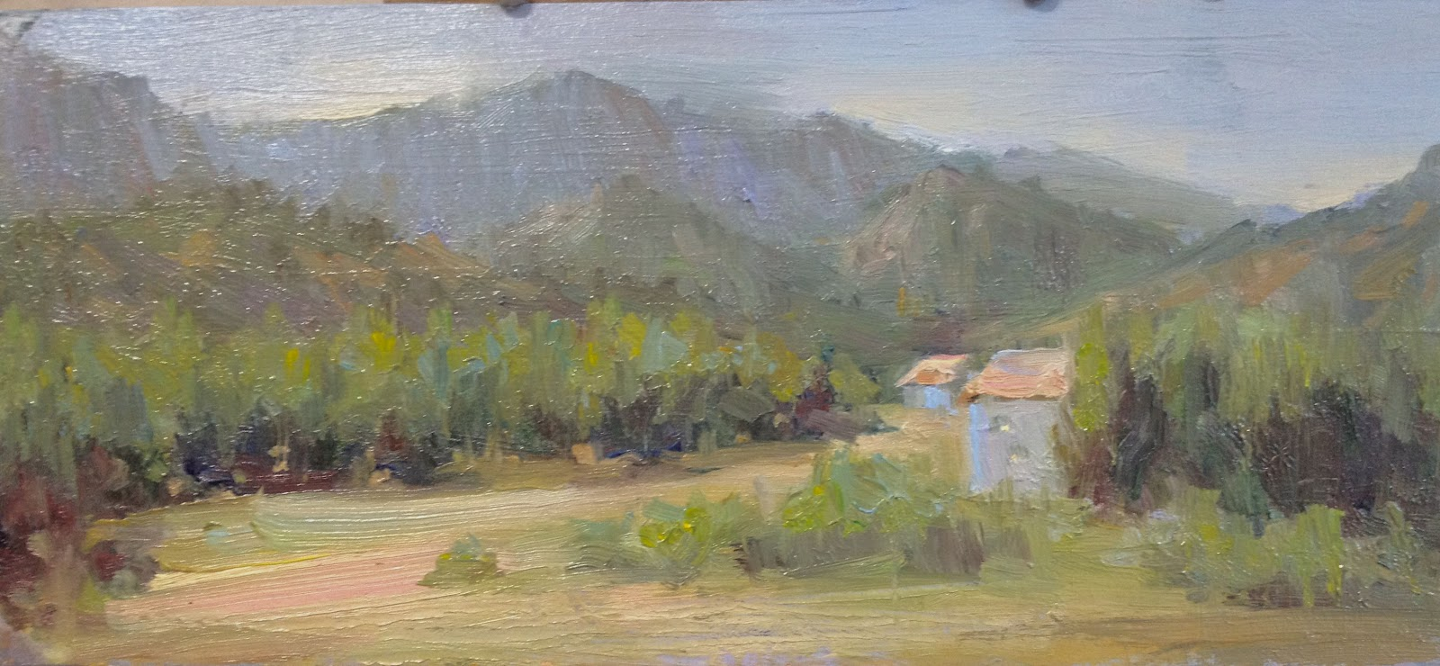 PORTRAIT PAINTER GOLD BY JOHANNA SPINKS How To Paint The Landscape