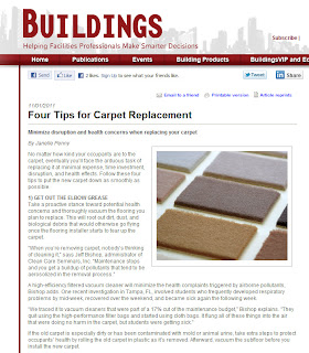 Replacing Carpet in Your Office? Four Tips