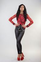 Bluza Wish Glamour Red Look