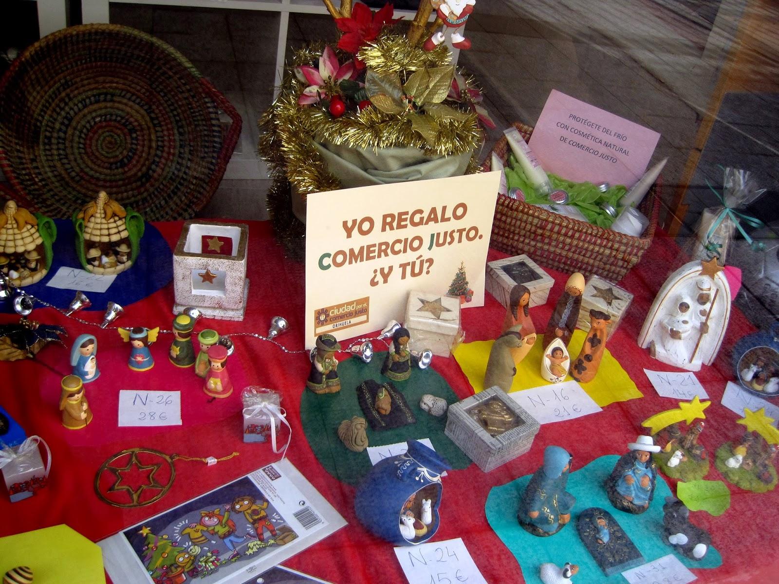 Grupo y tienda de comercio justo de orihuela art culos de - Articulos decoracion navidad ...