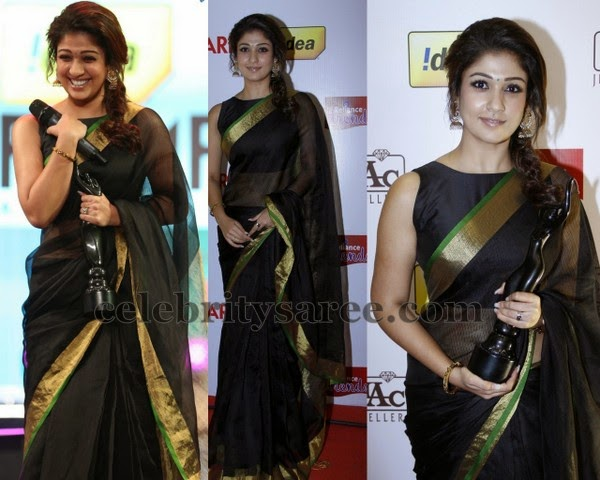Nayantara at Idea Filmfare Awards