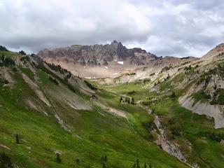 Cispus Basin - Pacific Crest Trail - Goat Rocks Wilderness - Cascades