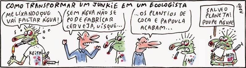 Adão Iturrusgarai: How to turn a junkie into an ecologist.