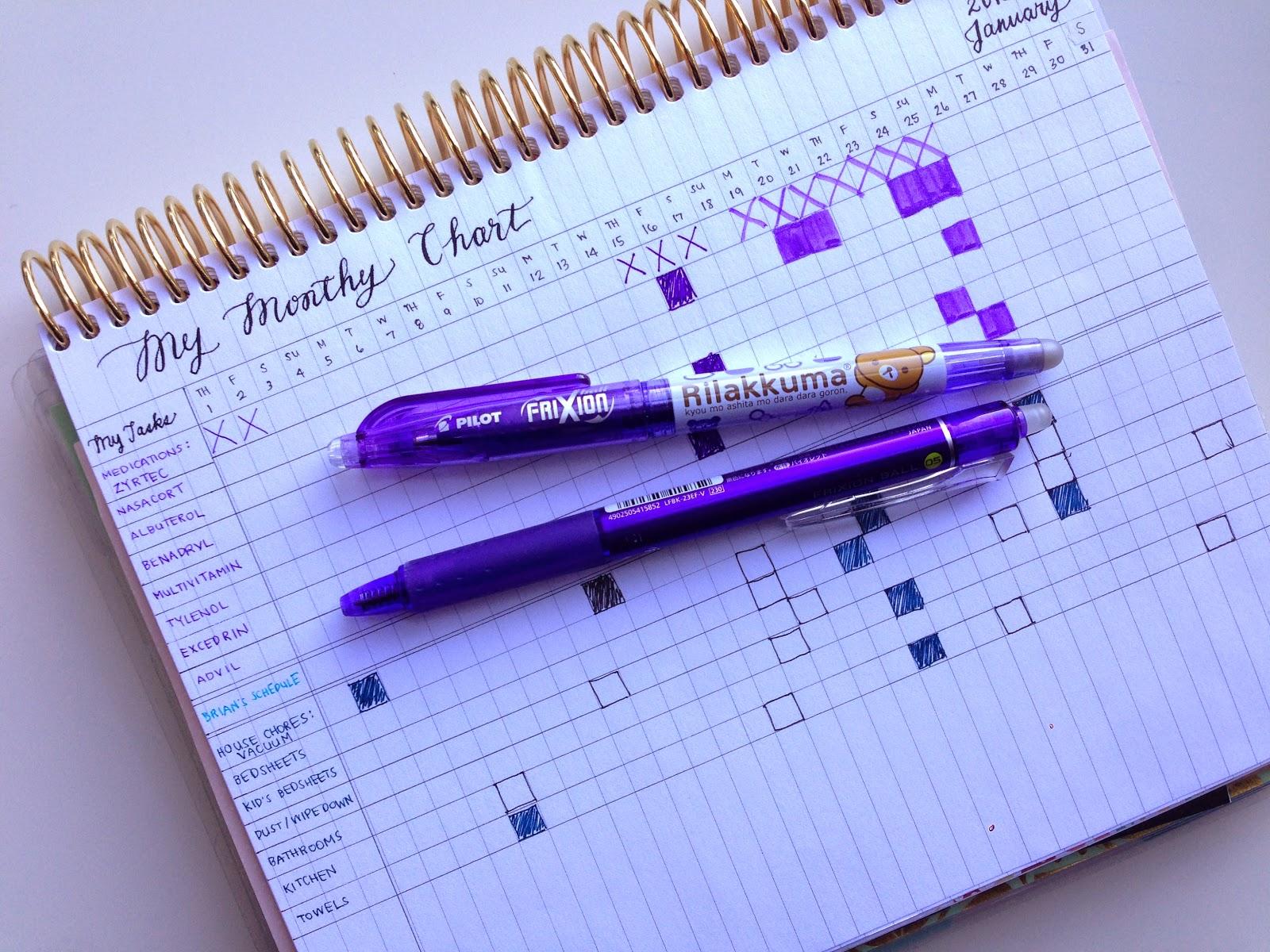 Using an Erin Condren Life Planner - January 2015