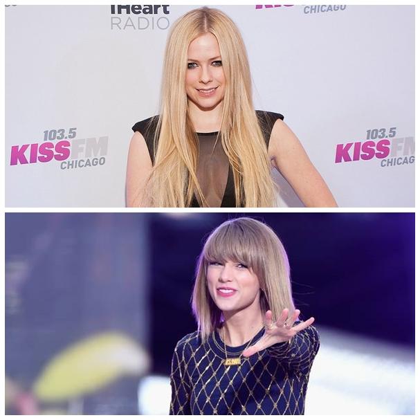 A Avril Lavigne no le gusta que la comparen con Taylor Swift