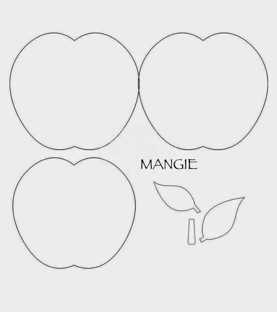 Plantilla manzana 2