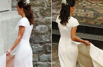 Pippa Middleton nytes best bakfra, for rumpa er mest interessant! thumbnail