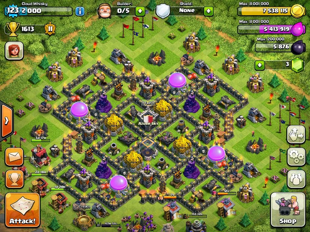 The best th9 farming bases in clash of clans compilation 18247