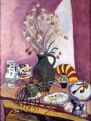 Henri Matisse - Nature morte aux asphodèles, 1907