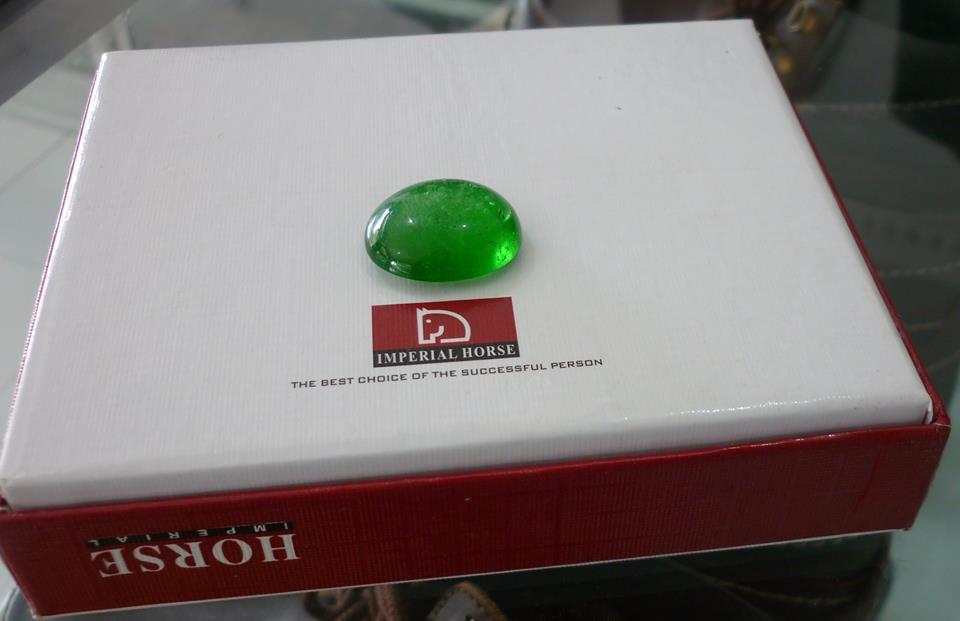 Batu Natural Zamrud Kalimantan Jumbo