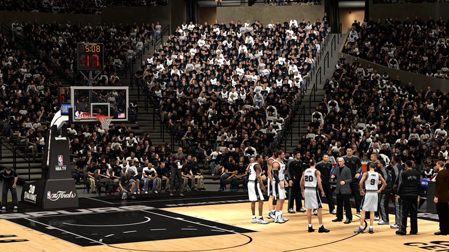 Spurs 2014 NBA Finals | NBA2K