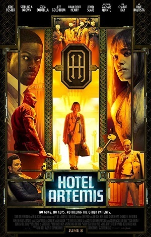 Hotel Artemis Filmes Torrent Download capa