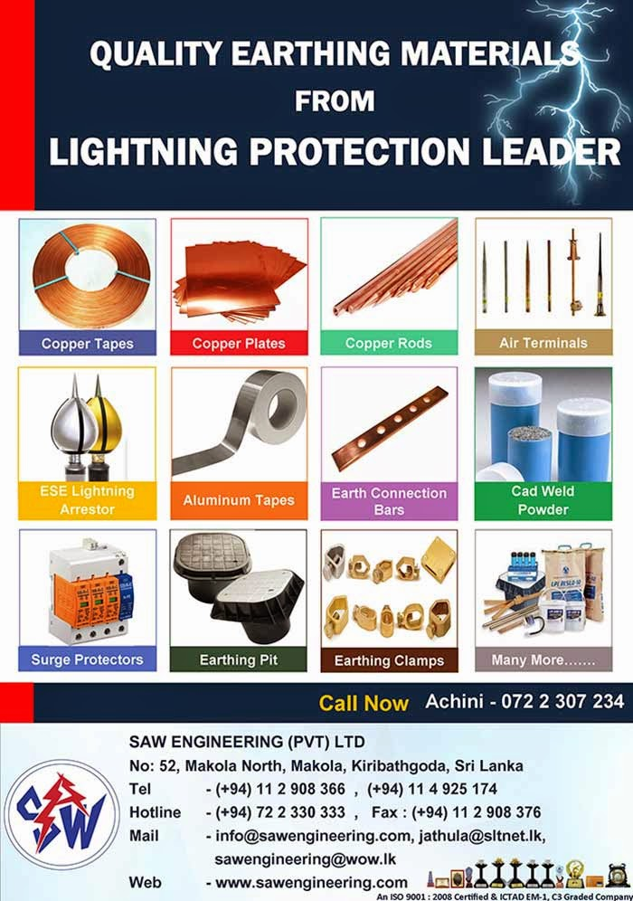 Quality Earthing Materials From Lightning Protection Leaders.