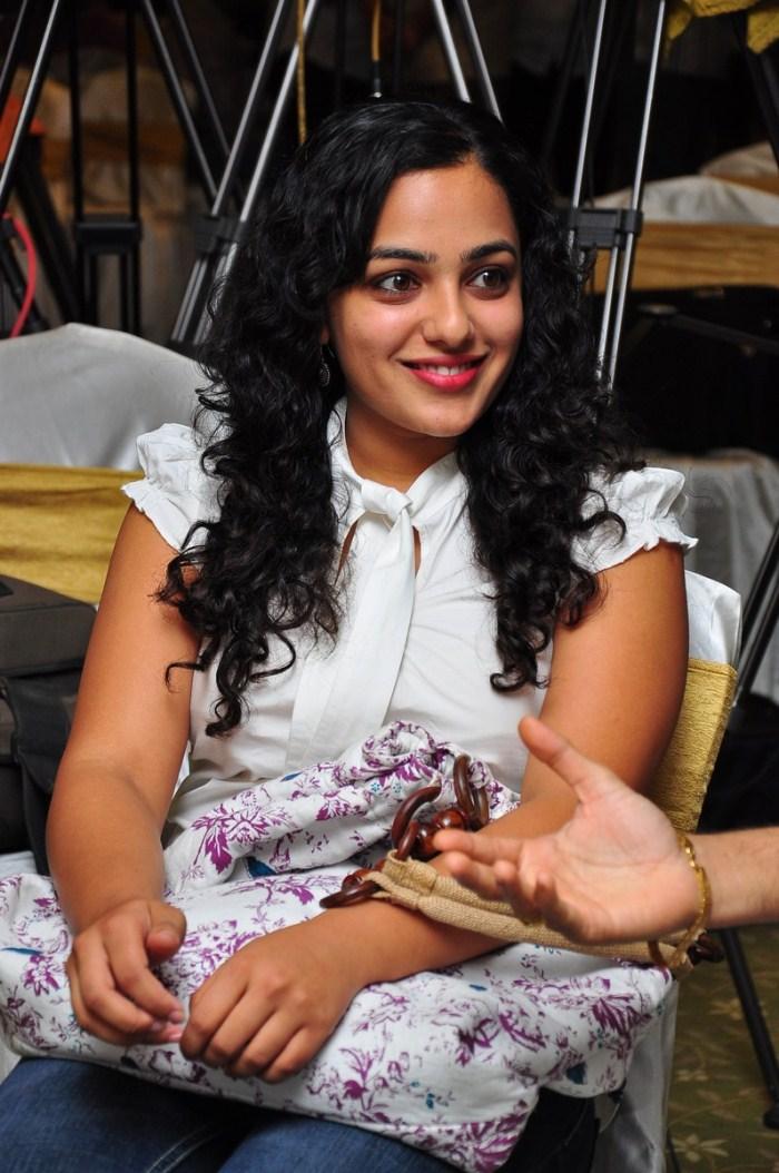 Nithya Menon Stills At Ala Modalaindi  Days Shield Functions Gallery cleavage