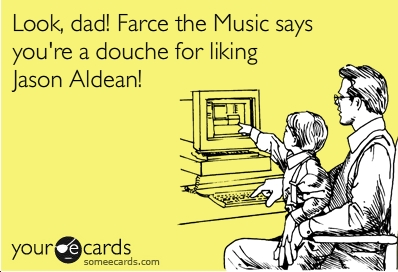 Farce the music some more music ecards for Farcical satire