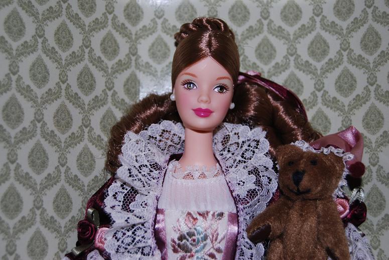 Mi Mundo De Muecas Victorian Barbie With Cedric Bear