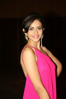 Rakul Preet Singh Pictures in Long Dress at Pandaga Shesko Audio Release ~ Celebs Next