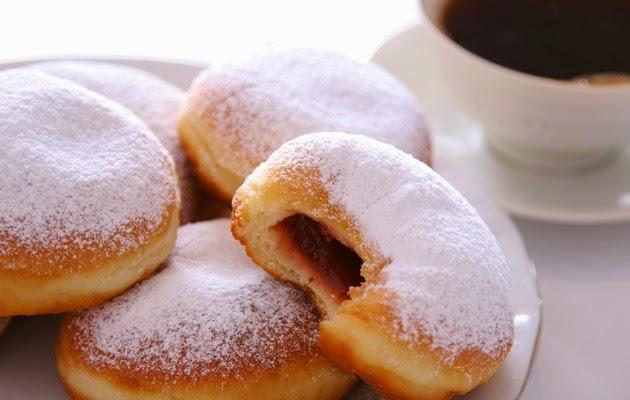 Resepi Mudah : Donut Berinti Jem