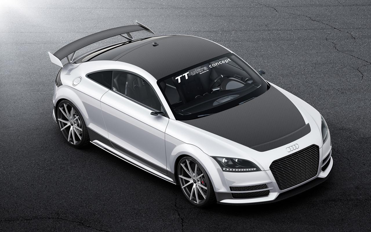 Asphalt Dreams  2013 Audi TT ultra quattro concept